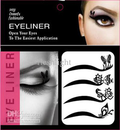 Wholesale Vintage Shadow - 50set 2012 NEW!! lady gaga Vintage Eye liner Sticker Shadow Sticker Smoky Eyes Sticker