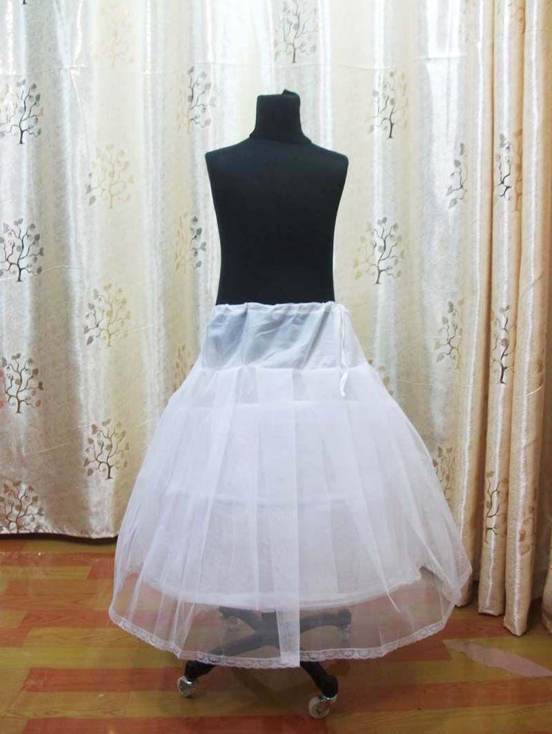 Slip Petticoat For Flower Girl Dresses Underskirt Pettiskirt For