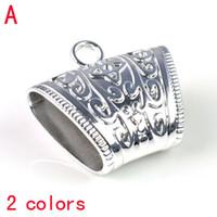 ingrosso fascia di clip in plastica-Clip di plastica del tubo della sciarpa, accessori dei pendenti delle sciarpe di modo, fascini dei monili, 2 colori PT-666