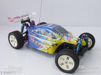 Wholesale Rtr Electric Truck - RC Buggy 1 : 10 scale RC car Electric 4WD Racing cars Buggy RTR Radio Control truck toys