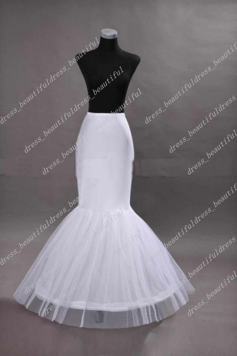 mermaid wedding bridal petticoat crinoline underskirt