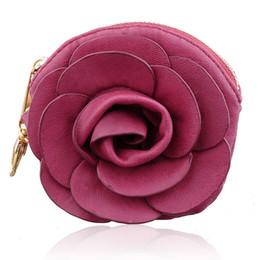 $enCountryForm.capitalKeyWord NZ - handbag Purse Rose Flower Purse Evening Coin Bag