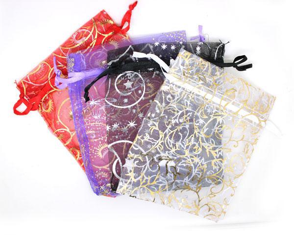 Sacos do fio da jóia sacos do presente de 10 * 12cm Sacos dos doces Sacos Multipurpose