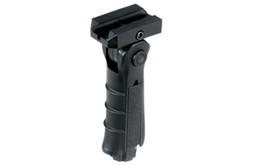 Wholesale Weaver Tactical - Tactical 5 Position Folding Ergonomic Weaver-Picatinny Rail Front Grip Foregrip With Storage Cavity