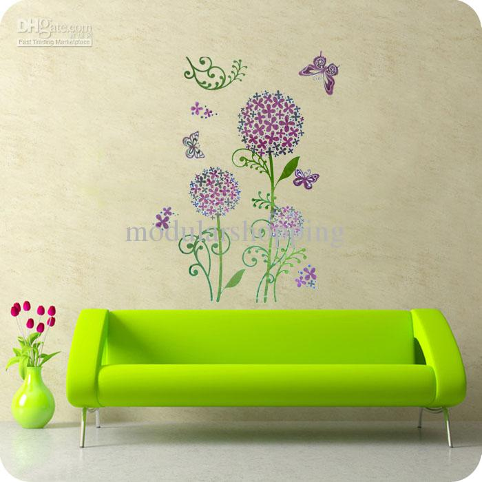 Wall Sticker Kitchen Decor Sun Flower Vinyl Removable Fresh 32*59cm  Adhesive Wall Stickers Affordable Wall Decals From Modularshopping, $36.83|  Dhgate.Com