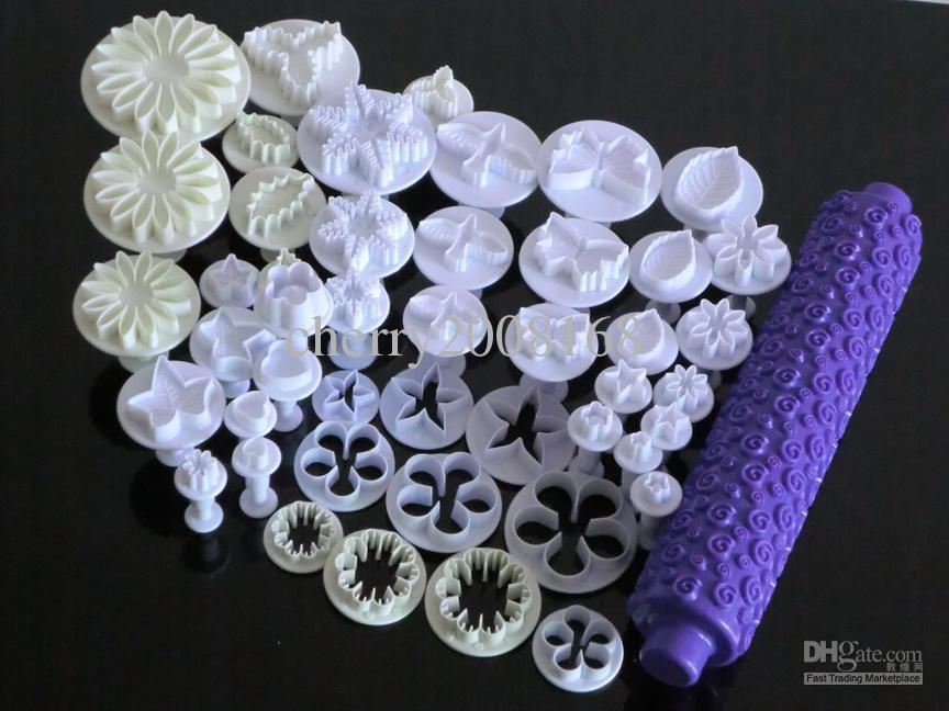 C65 Sugarcraft de la decoración DIY de la torta de hojas mariposa herramienta herramienta de girasol cortador del émbolo de la cocina por la panadería bricolaje en el hogar de la cocina de la torta