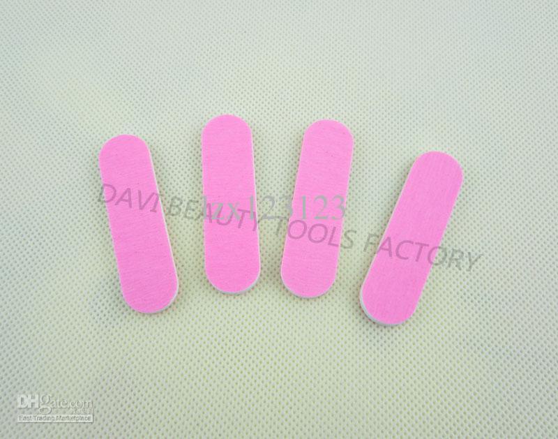/ Mini lime à ongles pour nail art 6 cm bord de papier rose emerry conseil LIVRAISON GRATUITE