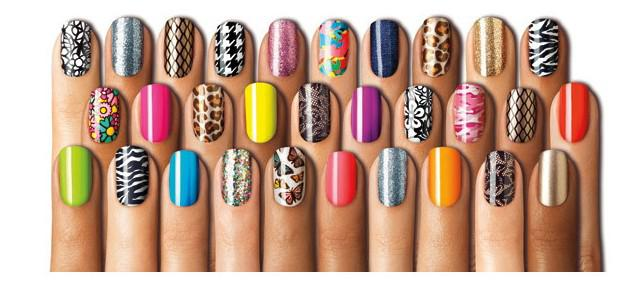 New mix design color 3d nail art sticker tip decal different see larger image prinsesfo Gallery