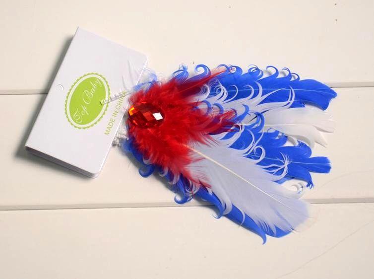 NEW Baby Headbands Christmas hair bands Feather headwear /