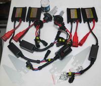 Wholesale xenon ballasts - 1 Set 35W H4-4 Slim Ballasts Dual Xenon(Low Beam & High Beam) HID Kits H13-4 9004-4 9007-4 6K 8K 12V