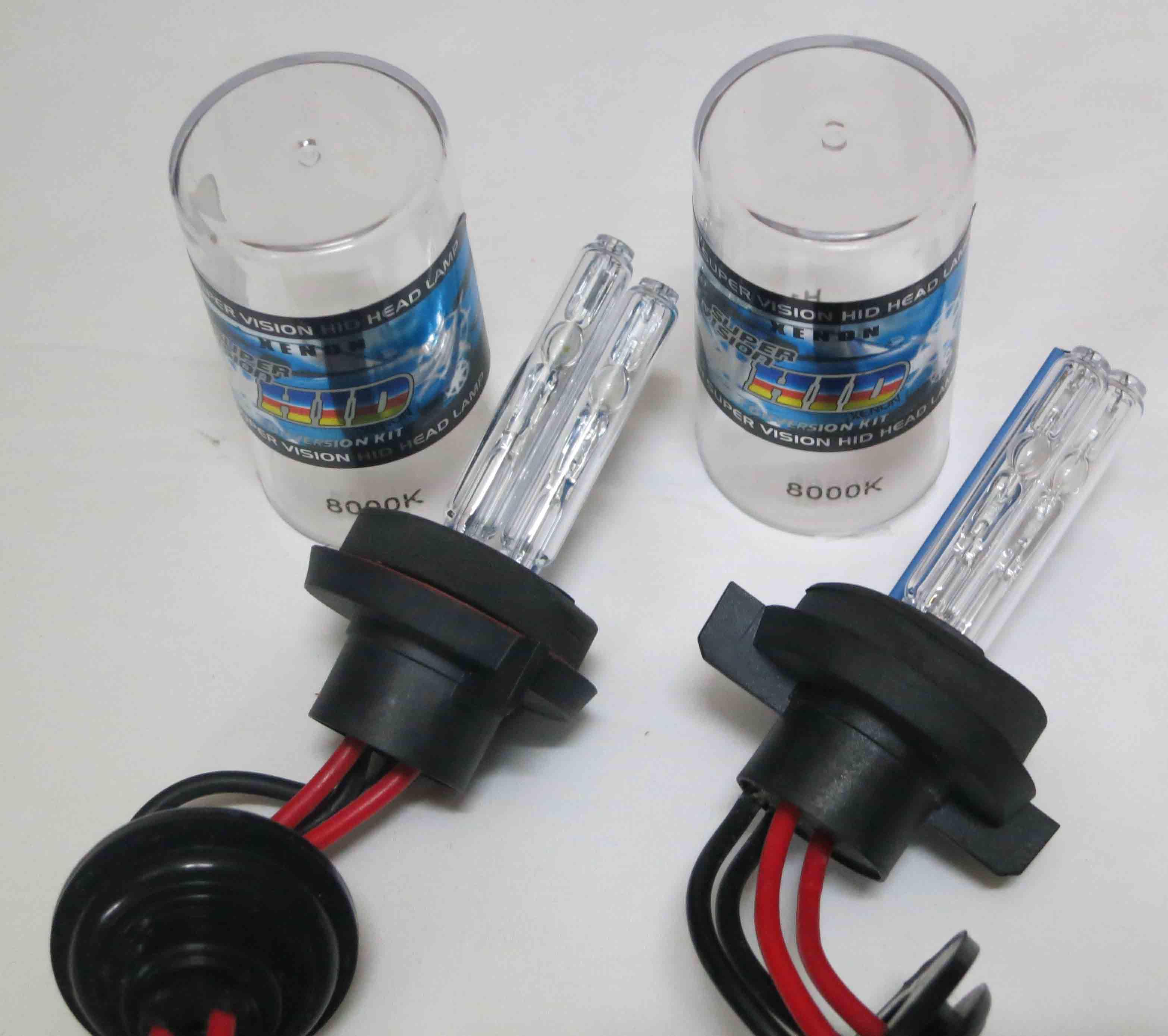 1キット35W H4-4スリムバラストデュアルキセノン(ローハイビーム)HIDキットH13-4 9004 / 9007-4 6K 8Kメタルベース