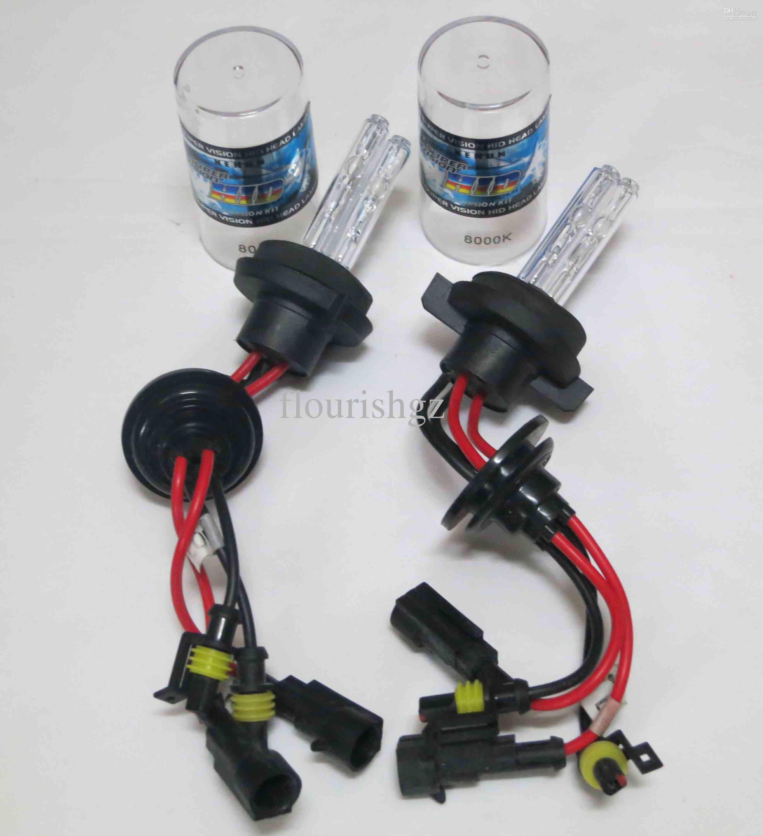 35W H4-4 Slanke voorschakelapparaten Dual Xenon Low Beam High Beam HID-kits H13-4 9004-4 9007-4 6K 8K 12V