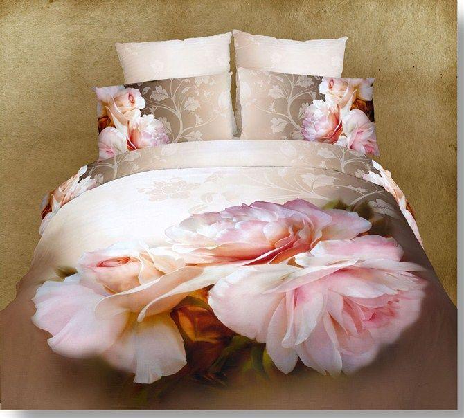 100 Cotton Unique 3d Oil Painting Bedding Sets Duvet