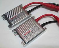 xenon hidrolik balast değiştirildi toptan satış-100 adet 35 W AC Gümüş Ince Balastlar HID Xenon Yedek Dijital Ince Balast Evrensel Patentli 12 V