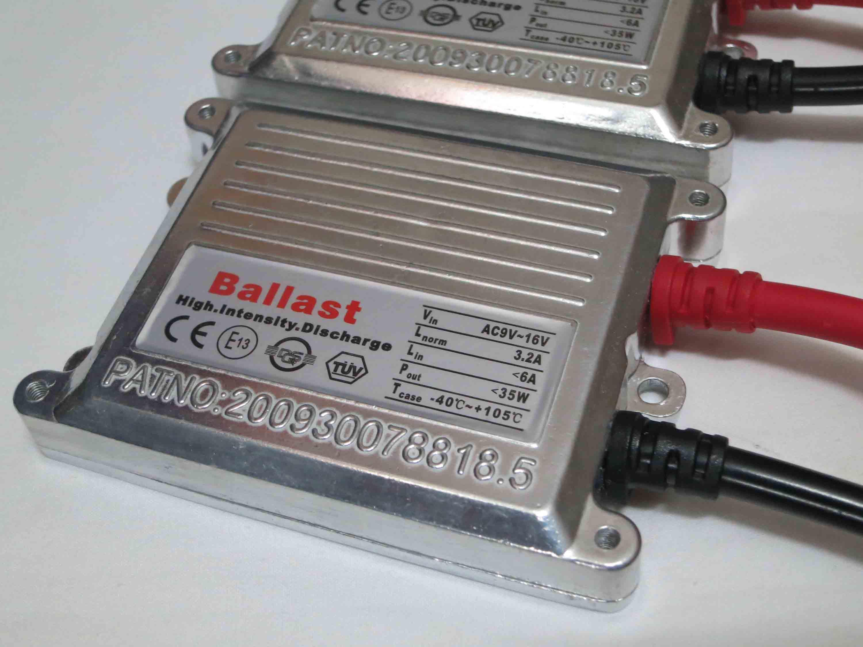 100 stks 35w AC Zilver Slanke Ballasten HID Xenon Vervanging Digitale Slanke Ballast Universele Gepatenteerde 12V