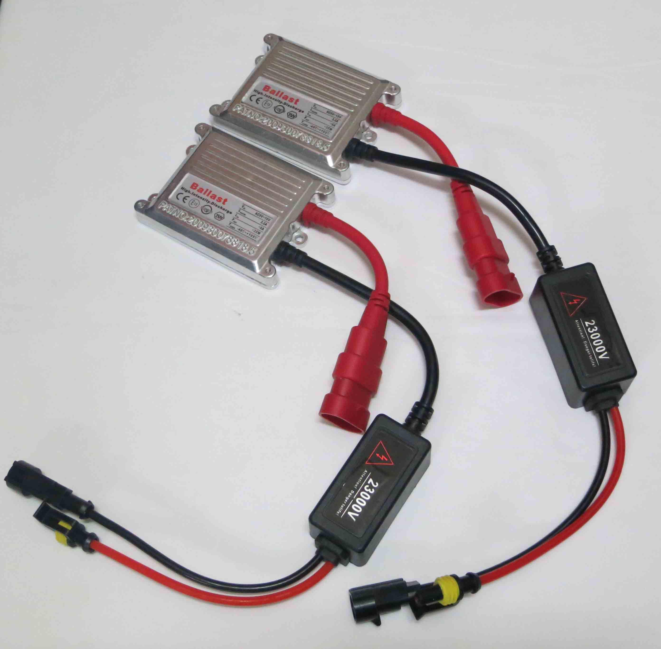 35W AC 실버 슬림 안정기 HID 크세논 교체 디지털 슬림 밸러스트 유니버설 특허받은 12V