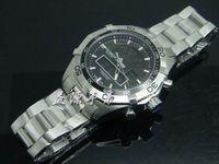 Wholesale Quartz Analogue Watch - Mens LED Digital Watch Chronotimer Wristwatch Chronograph 300M Quartz Multiple Analogue Diving Watch