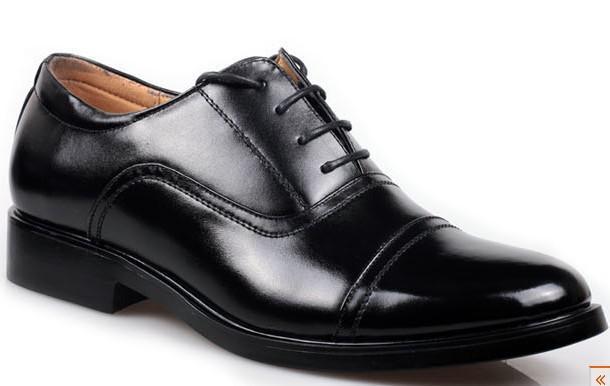 Large Size Frenum Black Dress Shoes Men's Casual Shoes ...