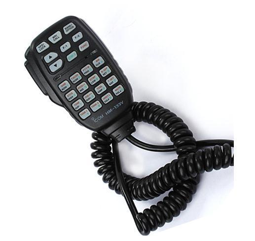 IC-2200Hのための新しいICOM HM-133V DTMF MIC-V8000カーラジオID-880H IC-E880