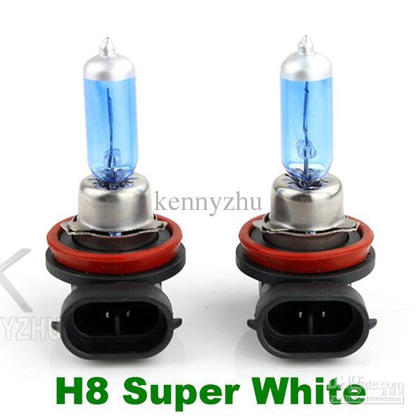 H8 Halogen Xenon Lamp 6000K Low Beam 12V 35W New Super White Light Bulbs