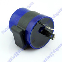 Wholesale 6v Indicator - 6V 12V 2 Pin Motorcycle Motorbike Flasher Relay Turn Signal Indicator w  Beeper Free shipping