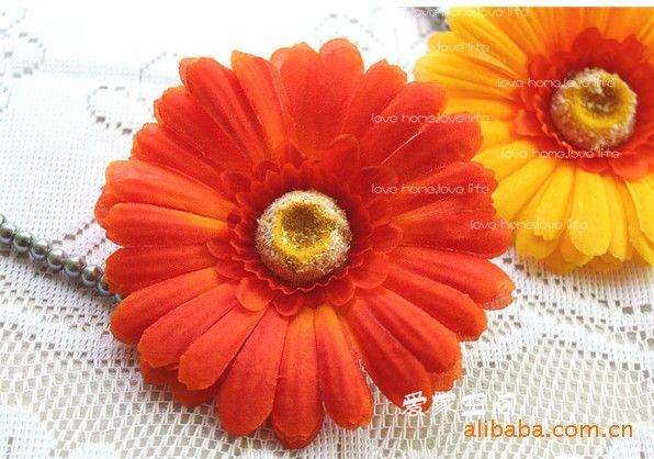 Flor de seda artificial de la margarita de los colores mezclados para casarse el ramo nupcial Decoración Craft 4.3