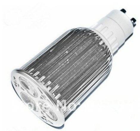 / 고성능 GU10 3X6W 18W LEDS 스포트라이트 85V-265V Led 램프 조명 Led 전구