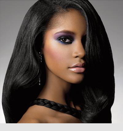 "100% Clip-in 18"" Human Hair 50g/set Human Hair Extension Straight #1 jet black Hair Weft Weave"