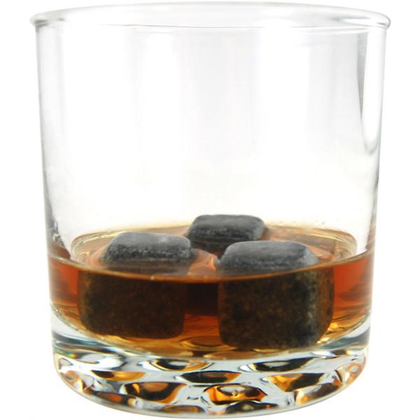 top popular Whisky Stones 6pcs Set Whiskey Wine Rocks Stone Bar Accessary Sipping Stone Ice Cube Stones 2021