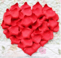 Wholesale Throw Wedding Flowers - Wedding petals wholesale hand throwing petals rose petals simulation blue roses flowers.1440pcs lotr