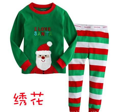 Christmas Pyjamas Long Sleeve Boy Baby Pajamas Suit Baby Suit ...