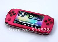 Wholesale Brand Video Games - Free shipping 3000 Games Brand New 4.3 Inch Large Screen Game Player 8GB MP4 Player+Video Player FM