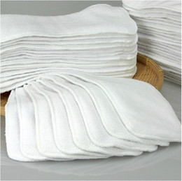 wholesale bamboo liners NZ - New Super Absorbent Bamboo Cloth Diaper Inserts Diaper Liners 10pcs lot