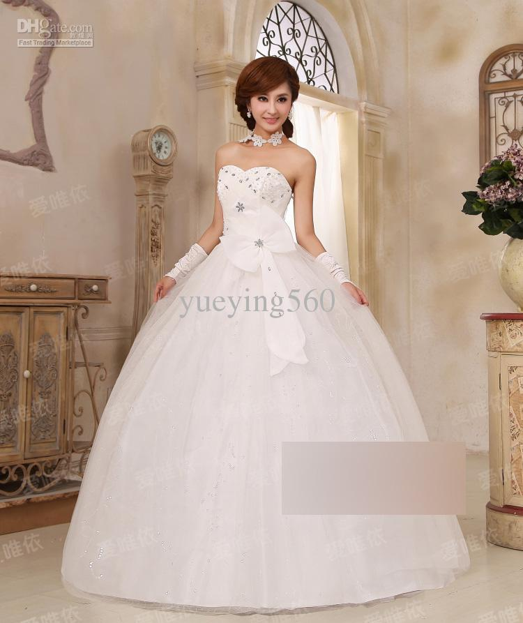 Princess Style Wedding Gowns: Fashion New Style Wedding Dress 2012 Princess Dress Puffy