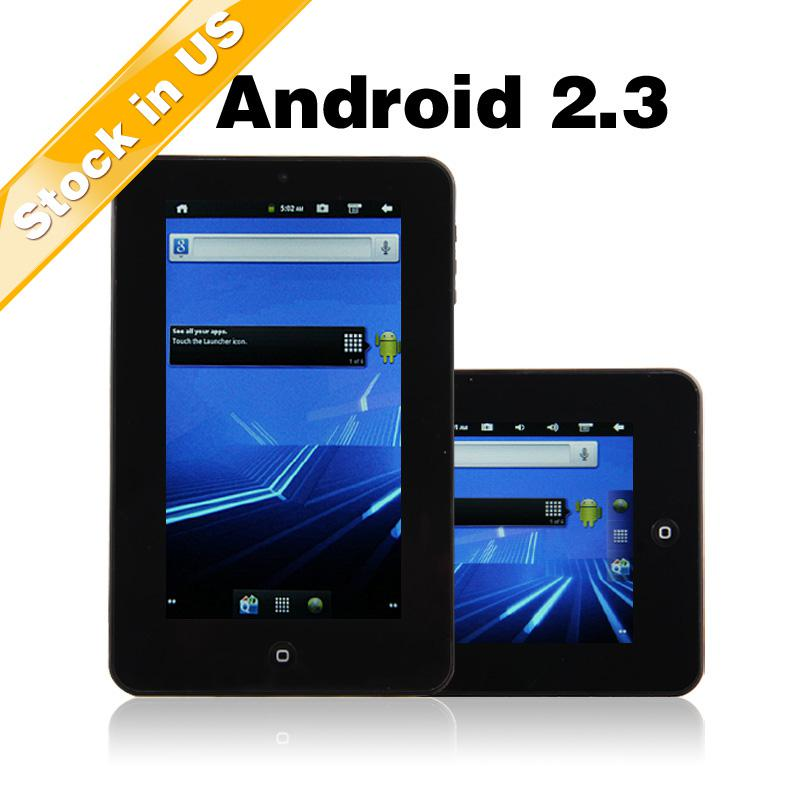 """Stock in US 12hr Dispatch 7"""" Android 2.3 Infotmic PV210 Tablet PC Get 4GB TF Card for Free"""