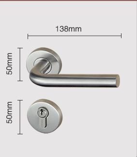 2019 Door Lever Locks Sus304 European Standard Door Locks