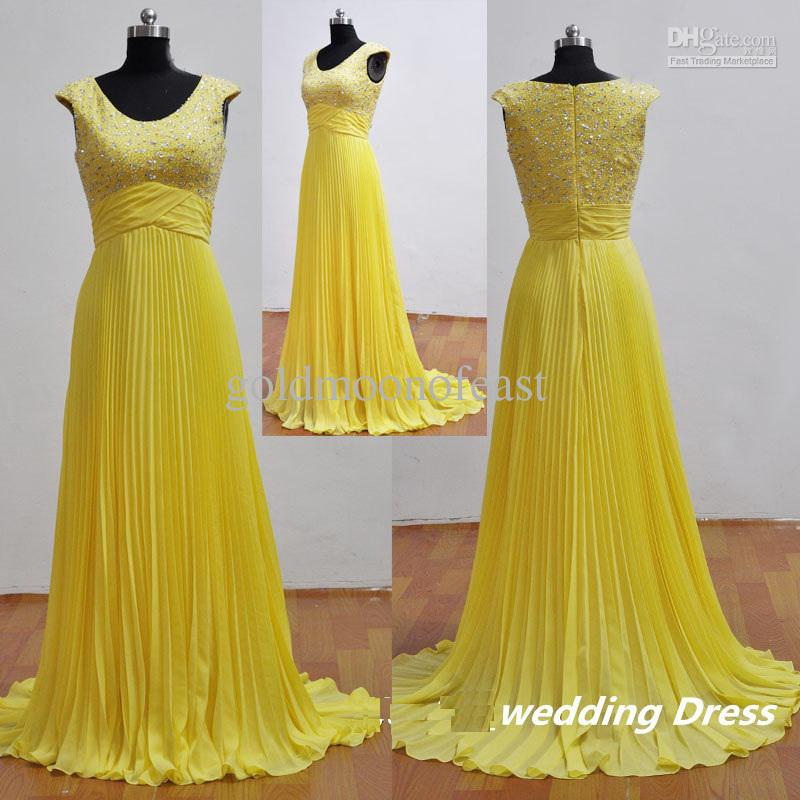 Bridal dresses online yellow