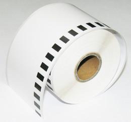 Wholesale Label Frame - 5 x Rolls Brother Compatible Labels DK-22205 DK 22205 DK 2205 62mmx30.48m Continuous Paper Labels without frame