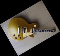 Wholesale Newest Mahogany Electric Guitar - Newest slash model china electric guitar gold goldtop