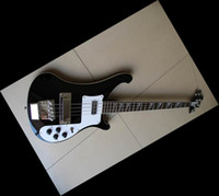 Wholesale Newest String Electric Bass Guitar stereo varitone BLACK