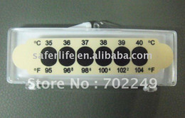 Wholesale Forehead Strip - Promotional Forehead strip thermometer fever scan forehead fever strip liquid crystal thermometer home care product