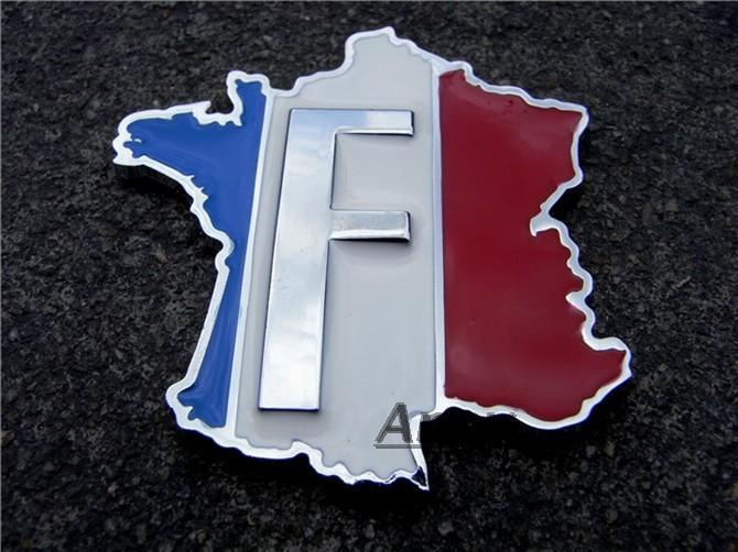 2018 wholesale 3d metal french flag stickers decals chrome car emblems decal from circlejuan 25 13 dhgate com