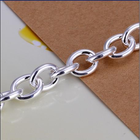 Haute qualité 925 argent la chaîne pendentif libellule bracelet de noël cadeau bijoux livraison gratuite