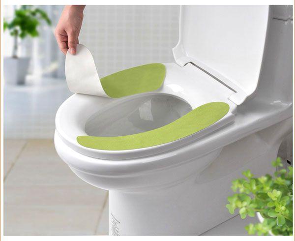gro handel deodorant toilet aufkleber sitz bequeme stick on toilettenreinigungskissen kissen. Black Bedroom Furniture Sets. Home Design Ideas