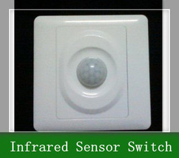 Wholesale Mount Motion Automatic Infrared Sensor - 5pcs Wall Mount Motion Automatic Infrared Sensor Switch 110V-AC240V