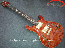 Wholesale Hollow Reed - electric guitar f hole Paul Reed Brown China Guitar