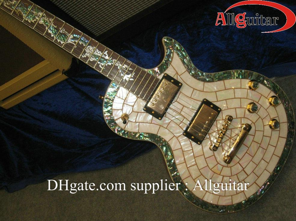 china guitar custom electric guitar abalone binding body deluxe gold hardware guitar electric. Black Bedroom Furniture Sets. Home Design Ideas