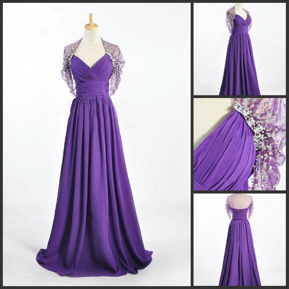 Stunning Mother Of The Bride Dresses: New Style Stunning Floor Length Mother Of The Bride Gowns