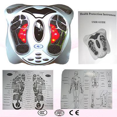 Nueva máquina de la circulación de la sangre del masaje del pie del detox del magnetismo físico infrarrojo del ion