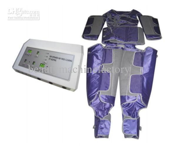 Neue Far Infrarot Sauna Pressotherapie Körper Massager Gewichtsverlust Blutkreislauf Maschine